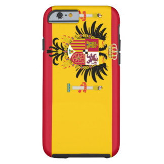 Spain flag image for iPhone 6 plus Vibe Tough iPhone 6 Case