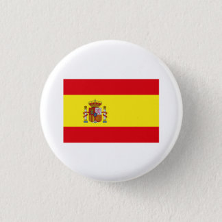Spain FLAG International Pinback Button