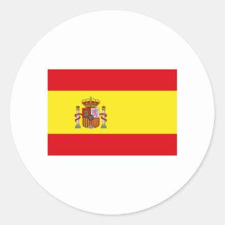Spain FLAG International Stickers