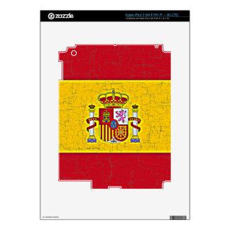 SPAIN FLAG iPad Skin