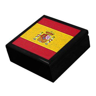 SPAIN FLAG Keepsake Box