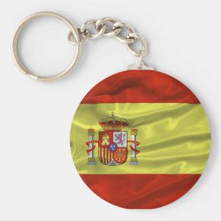 Spain Flag Keychain