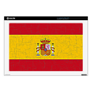 SPAIN FLAG Laptop Skin