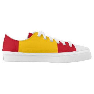 Spain Flag Low Top Shoes