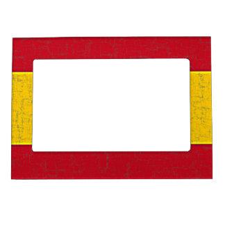 spain flag magnetic frame