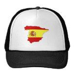 Spain Flag Map full size Hat
