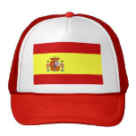 Spain Flag Mesh Hat