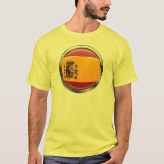 Spain flag Modern emblem badge for proud Spaniards T-Shirt