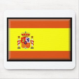 Spain Flag Mouse Pad