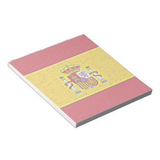 SPAIN FLAG Notepad