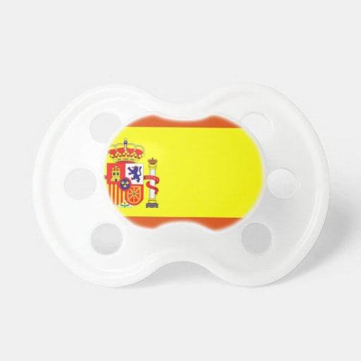 Spain Flag Pacifier