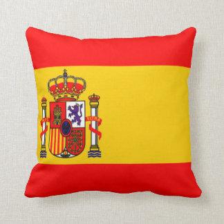 Spain flag pillows
