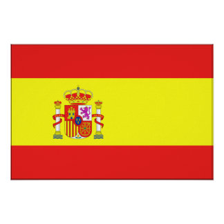 Spain Flag Posters