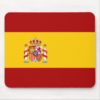 Spain flag quality mouse pad