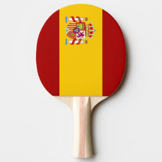 Spain flag quality Ping-Pong paddle