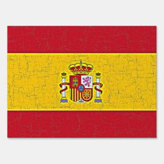 SPAIN FLAG SIGN