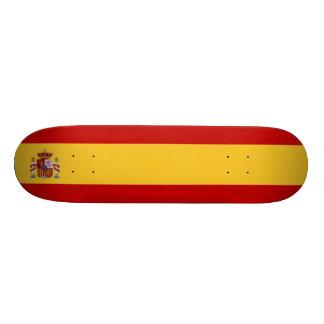 Spain Flag Skateboards