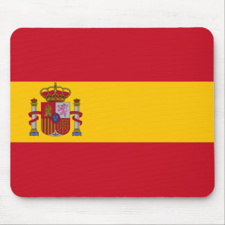 Spain flag Spain Coat of Arms Computer Mouse mat Mouse Pad