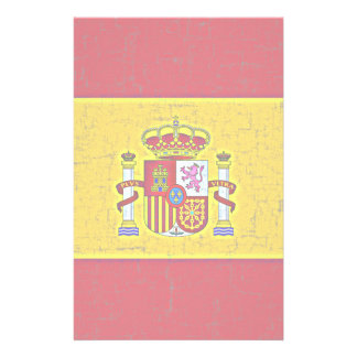 SPAIN FLAG Stationery