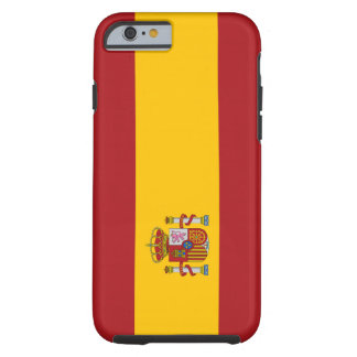 Spain Flag Tough iPhone 6 Case
