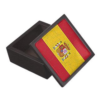 SPAIN FLAG Trinket Box