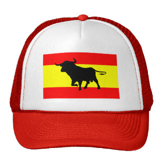 Spain Flag Trucker Hat