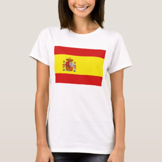 Spain Flag x Map T-Shirt