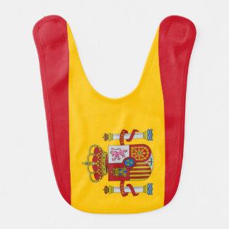 Spain Flag Baby Bib