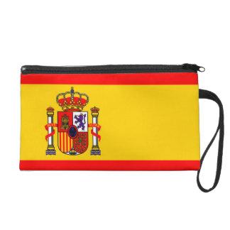 Spain flags bags wristlet clutch