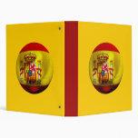 Spain Football 3 Ring Binders