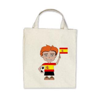 Spain football bags