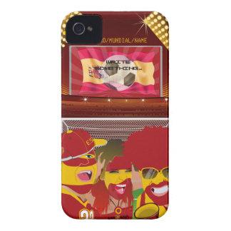 Spain Football Fan iPhone 4 Case