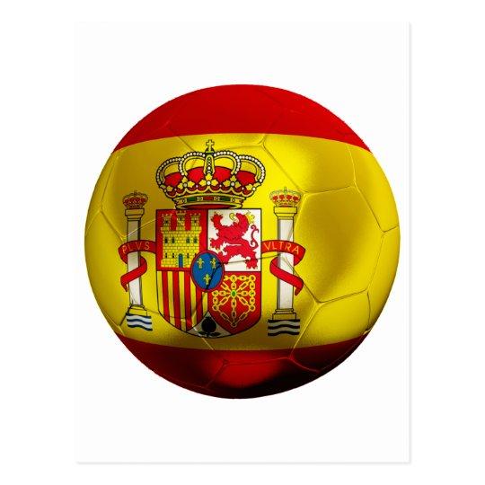 Spain Football Postcard