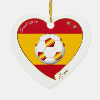 """SPAIN"" FOOTBALL Spanish Soccer Team FÚTBOL ESPAÑA Ornamentos Para Reyes Magos"