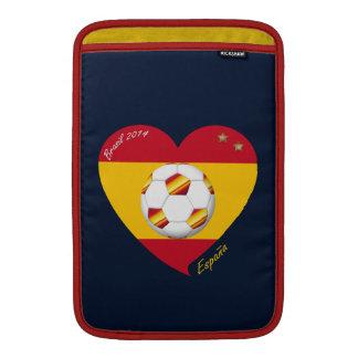 """Spain Football Spanish Soccer Team FÚTBOL """"ESPAÑA"""" Fundas Macbook Air"""