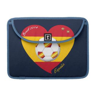"Spain Football Spanish Soccer Team FÚTBOL ""ESPAÑA"" Funda Para Macbooks"