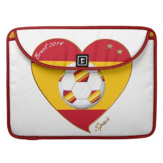 """SPAIN"" FOOTBALL Spanish Soccer Team FÚTBOL ESPAÑA Fundas Para Macbooks"