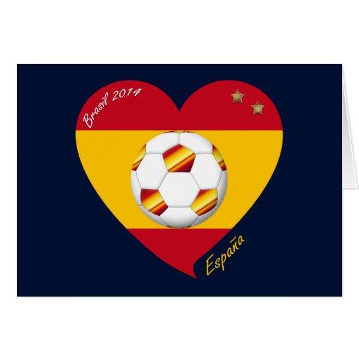"""Spain Football Spanish Soccer Team FÚTBOL """"ESPAÑA"""" Tarjetas"""