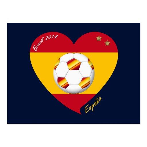 """Spain Football Spanish Soccer Team FÚTBOL """"ESPAÑA"""" Postales"""