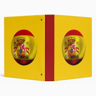 Spain Football Vinyl Binder