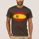 Spain Gnarly Flag T-Shirt
