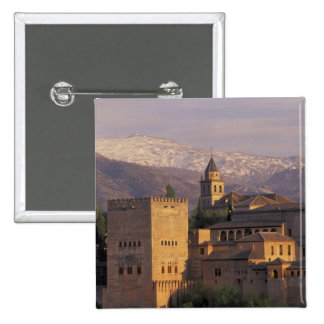 Spain, Granada, Andalucia The Alhambra, 2 Pinback Button