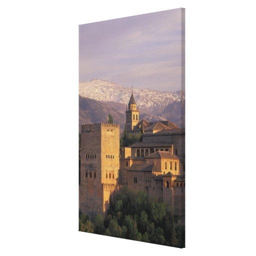 Spain, Granada, Andalucia The Alhambra, 2 Canvas Prints