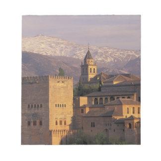 Spain, Granada, Andalucia The Alhambra, 2 Notepad