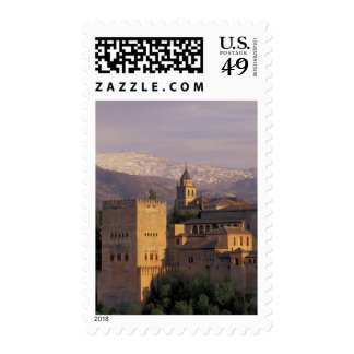 Spain, Granada, Andalucia The Alhambra, 2 Postage Stamp