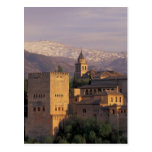 Spain, Granada, Andalucia The Alhambra, 2 Postcard