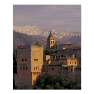 Spain, Granada, Andalucia The Alhambra, 2 Poster