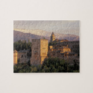 Spain, Granada, Andalucia The Alhambra, Jigsaw Puzzle