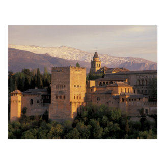 Spain, Granada, Andalucia The Alhambra, Postcard
