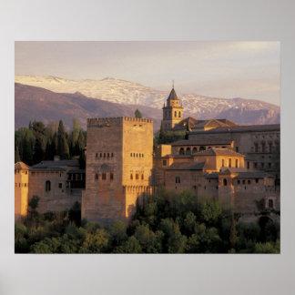Spain, Granada, Andalucia The Alhambra, Print